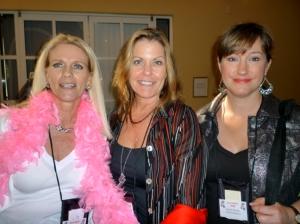 Vicki Landis, Kathleen Pickering, Karen Kendall