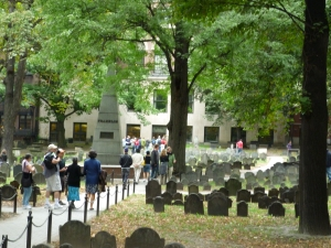 Historic burial ground