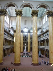 Columns in Museum