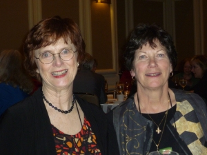 Maggie Toussaint and Barbara Graham