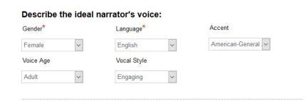 Narrator Voice