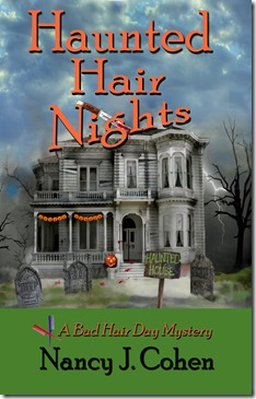 HAUNTED HAIR NIGHTS book cover