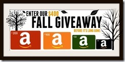 Fall Giveaway