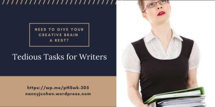 Tedious Tasks for Writers