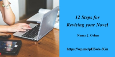 revision steps for your novel