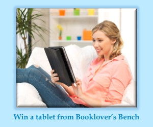 Booklovers Bench giveaway